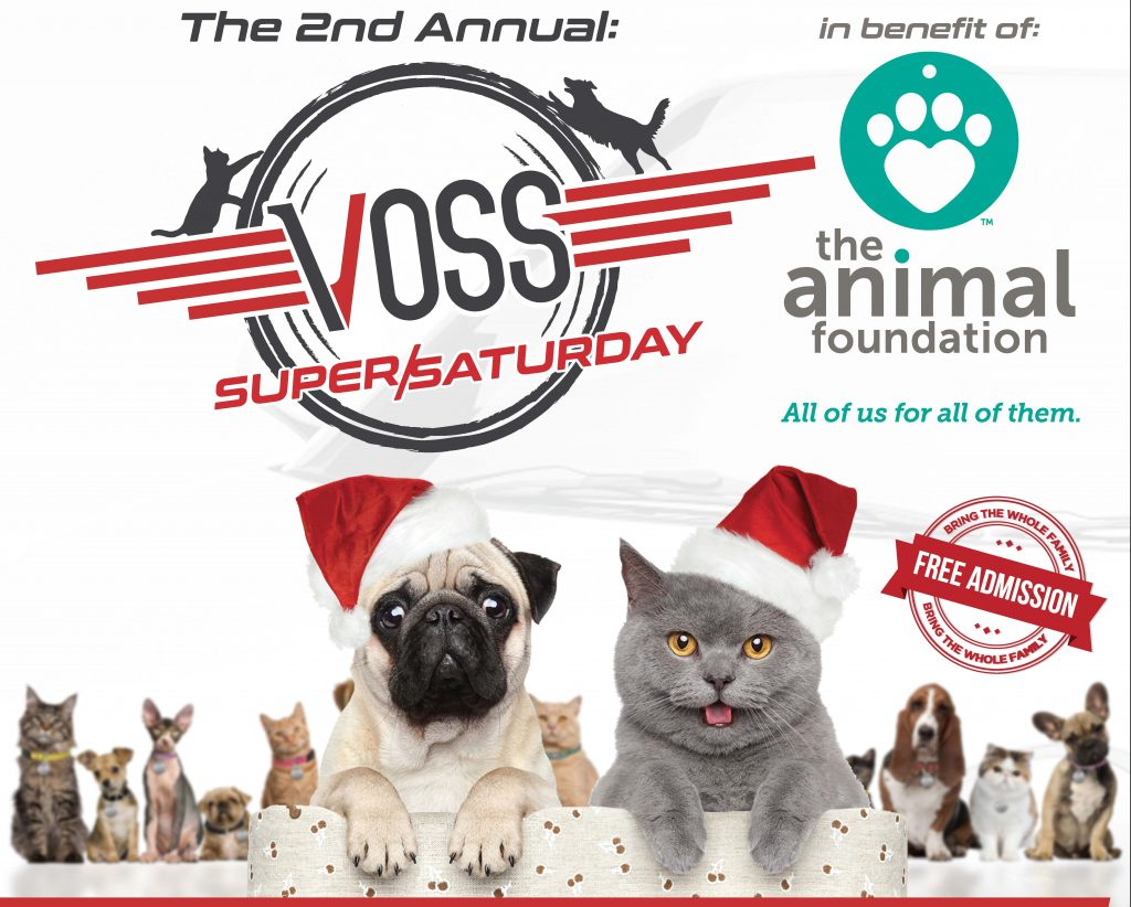Voss Super Saturday Adoption Event for The Animal Foundation
