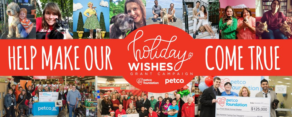 Petco Wishes Holiday Campaign Banner