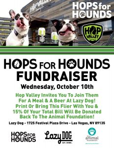 Hops for Hounds Fundraiser